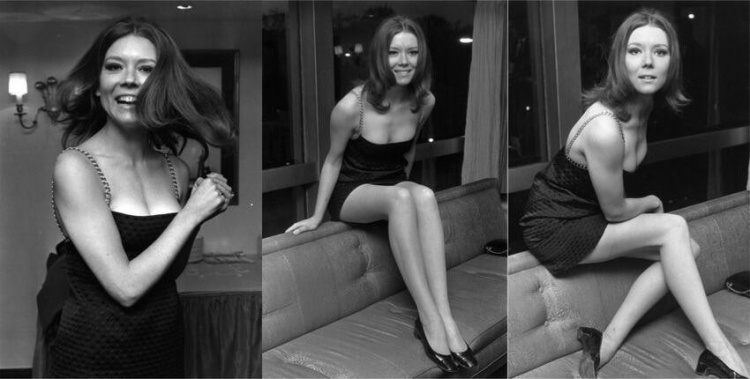 Vintage Style - L'actrice Diana Rigg, 1967. Reconnais-tu Olenna Tyrell, de Game of Thrones ?