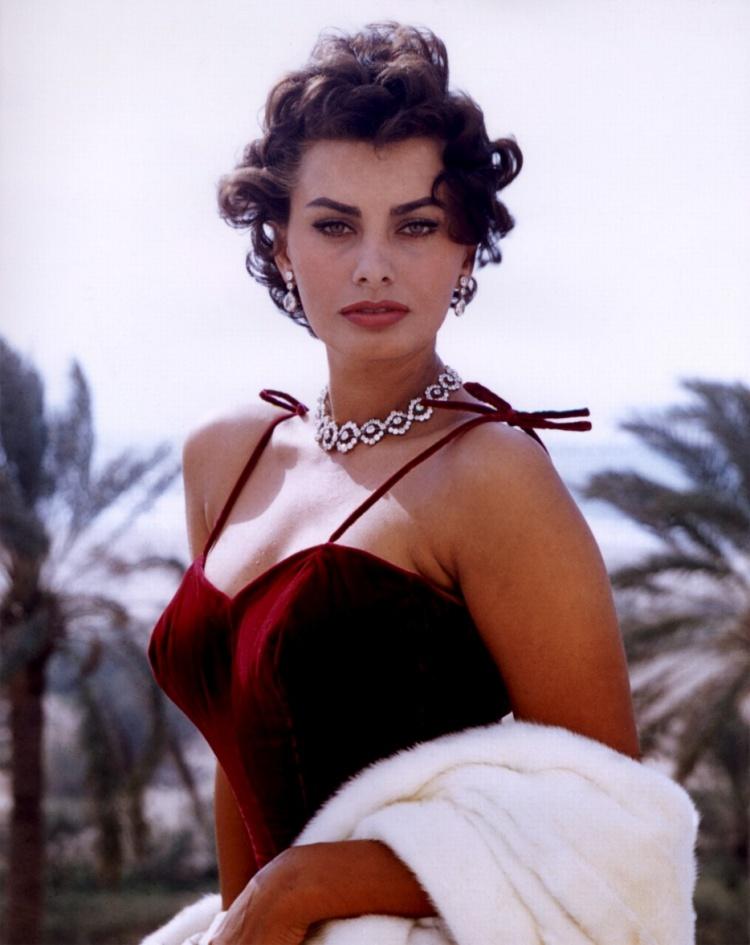Vintage Style - Sophia Loren, la seule actrice qui ait gagné à la fois un Oscar, un Grammy et un Golden globe.