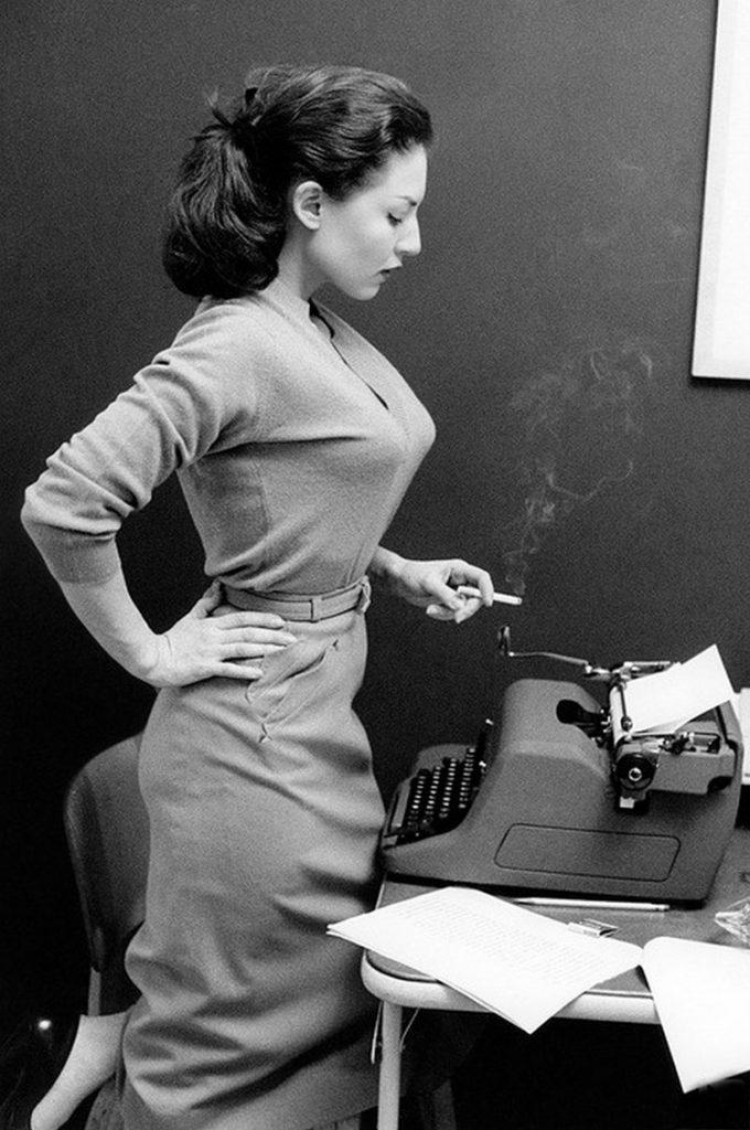 L'actrice Alice Denham, 1956