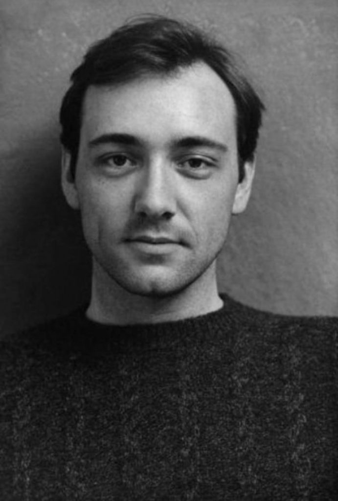 Kevin Spacey, jeune, 1980.