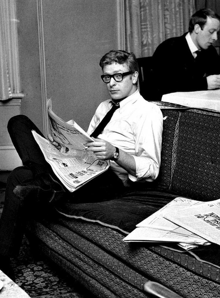 Le jeune Michael Caine, 1959.