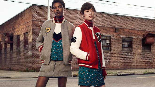 Collection Vestes Zara tendances - on a liké les manteaux et plus particulièrement, la doudoune qui s'impose clairement comme un must-have. Look preppy en vue avec des coloris très tranchés avec des bleus, des blancs et des rouges