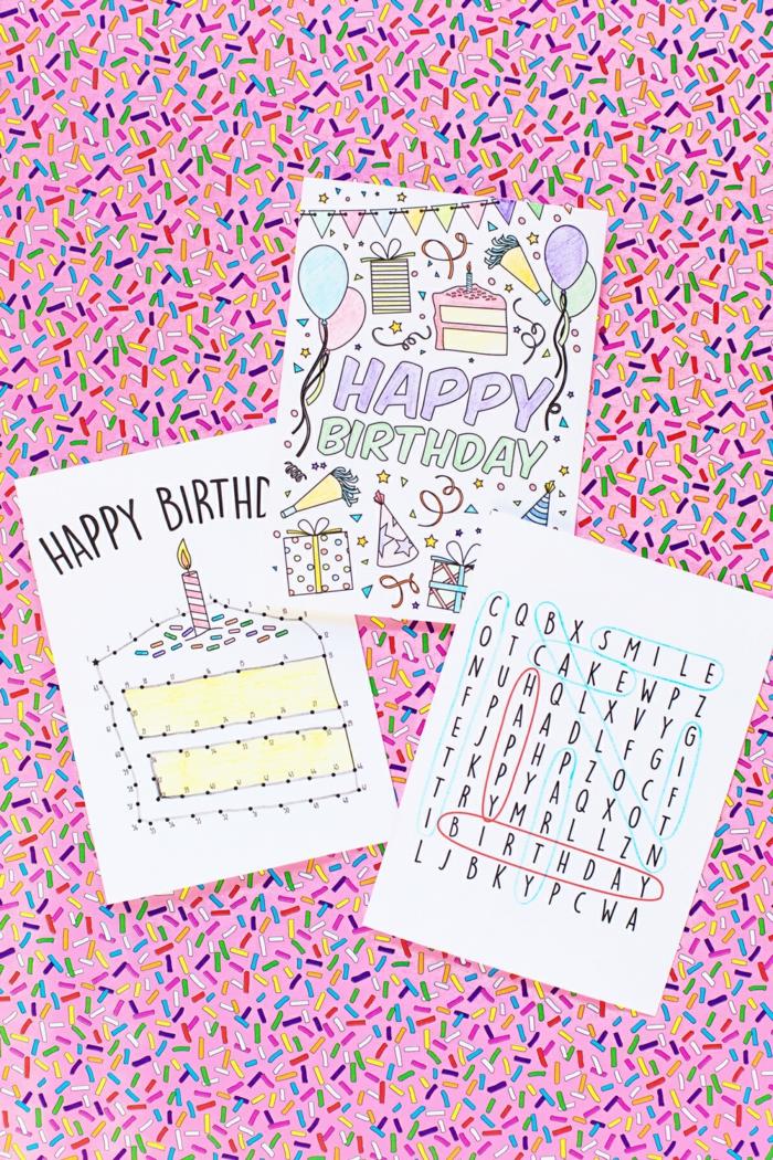 idée de carte d anniversaire 70 idées carte d'anniversaire que vous pouvez réaliser vous mêmes