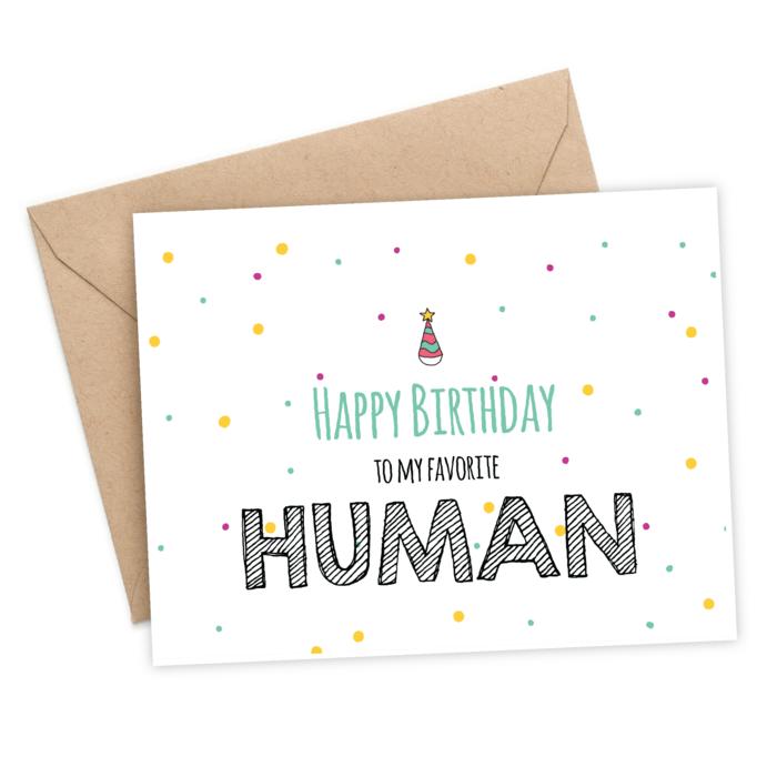 Faire une belle carte d'anniversaire