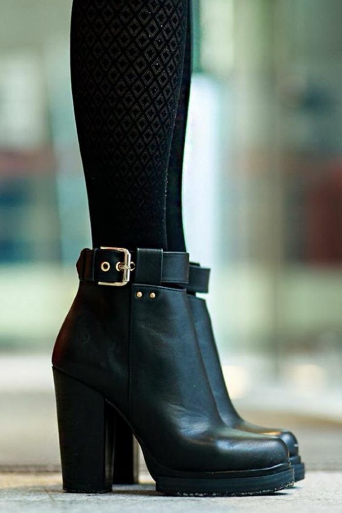 bottines-tendances-bottines-compensees-1-tendance-chaussure-bottines-noires-femme