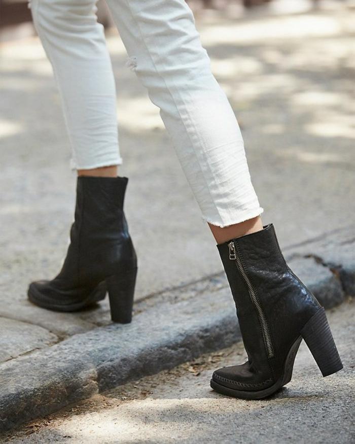 bottines-tendances-bottines-compensees-sur-la-rue