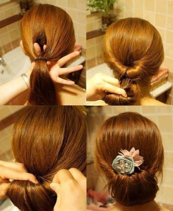 45 idées coiffure faciles pour cheveux longs à faire en 10 minutes