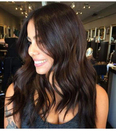 Le marron glacé  Découvrez la couleur de cheveux tendance