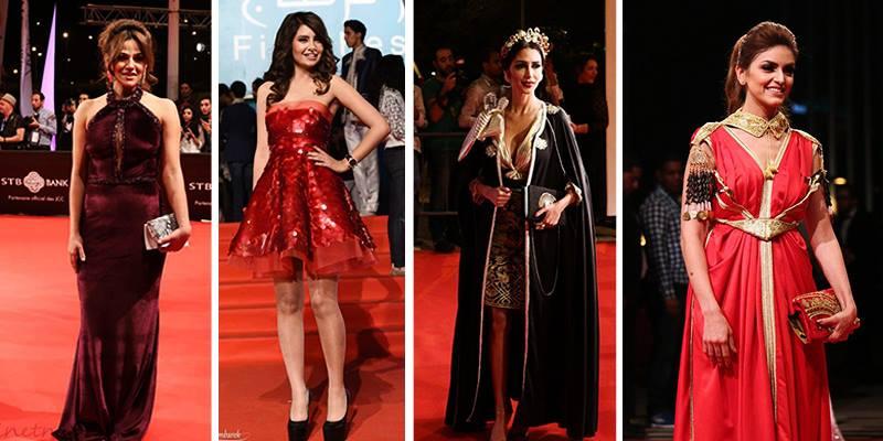 JCC : Les plus belles robes de stars tunisiennes sur tapis rouge en photos