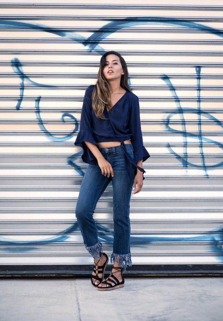 Bien porter le jean cropped hiver 2017 - look (10)