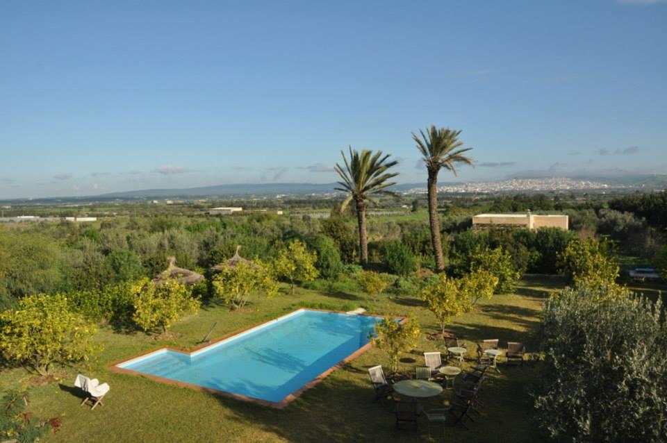 Située à el Alia, cette maison d'hôtes est un voyage en pleine nature.