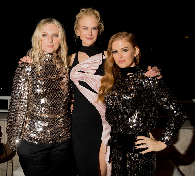 """Soirée d'élection """"InStyle Awards 2016"""" - LAURA BROWN, NICOLE KIDMAN, AND ISLA FISHER - Crédit photo: Instyle"""