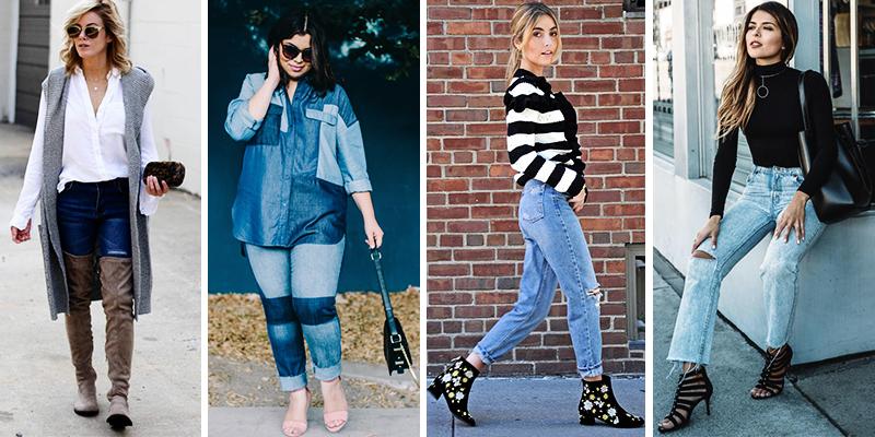 tendance mode 35 nouvelles fa ons de porter des jeans cet. Black Bedroom Furniture Sets. Home Design Ideas