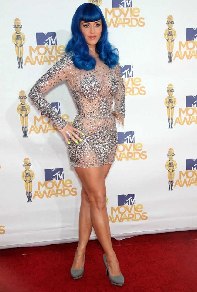 La robe de Katy Perry
