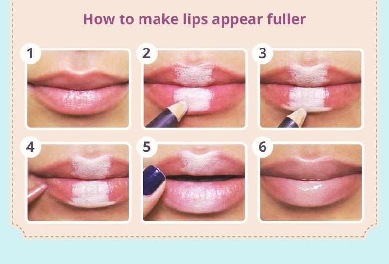 Comment maquiller mes lèvres pour qu'elles paraissent plus grosses