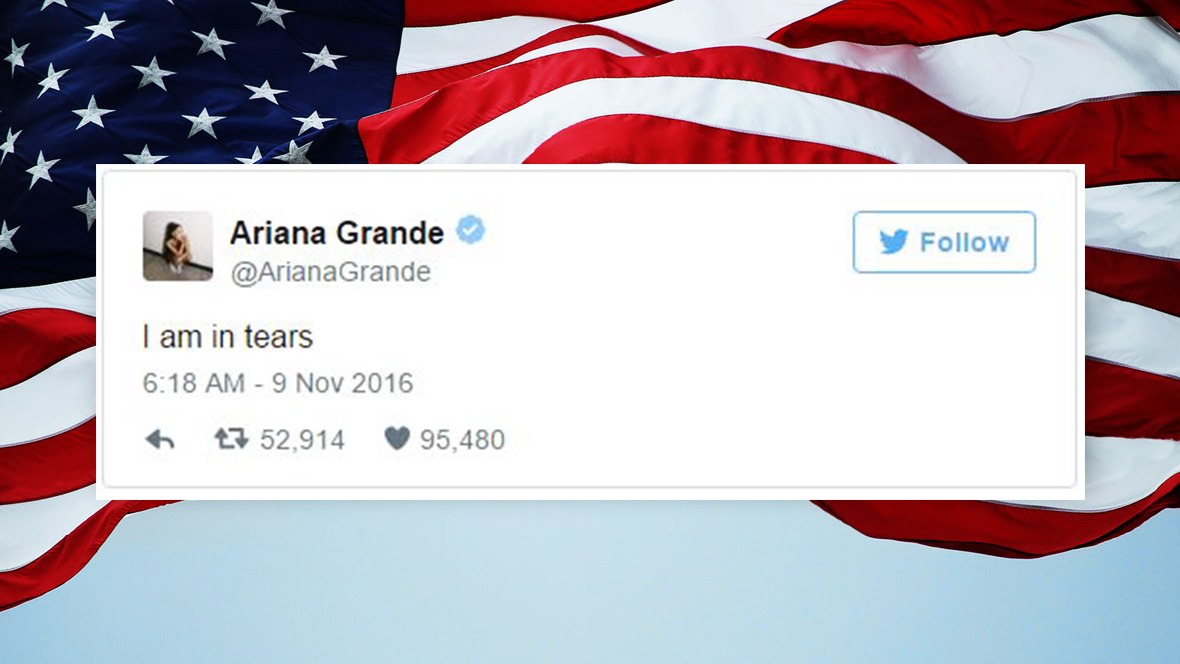 Les réactions des célébrités aux résultats choquants des élections américaines
