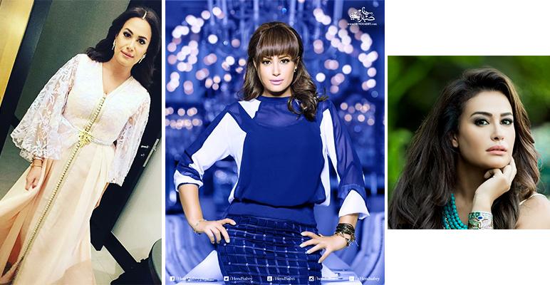 Star tunisienne - Hend Sabri toujours belle et ravissante, on aime ses robes et le choix de ses accessoires mode.