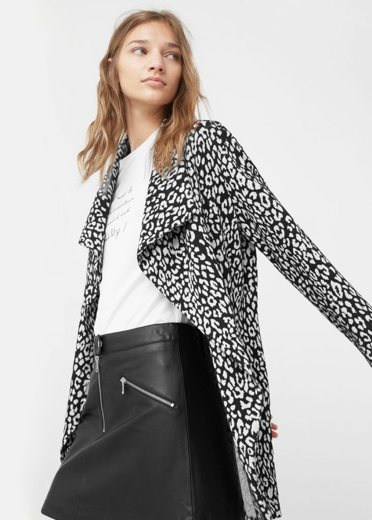 Veste motif léopard - Mango Tunisie