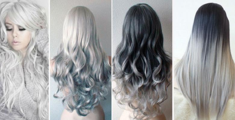Coloration cheveux gris souris