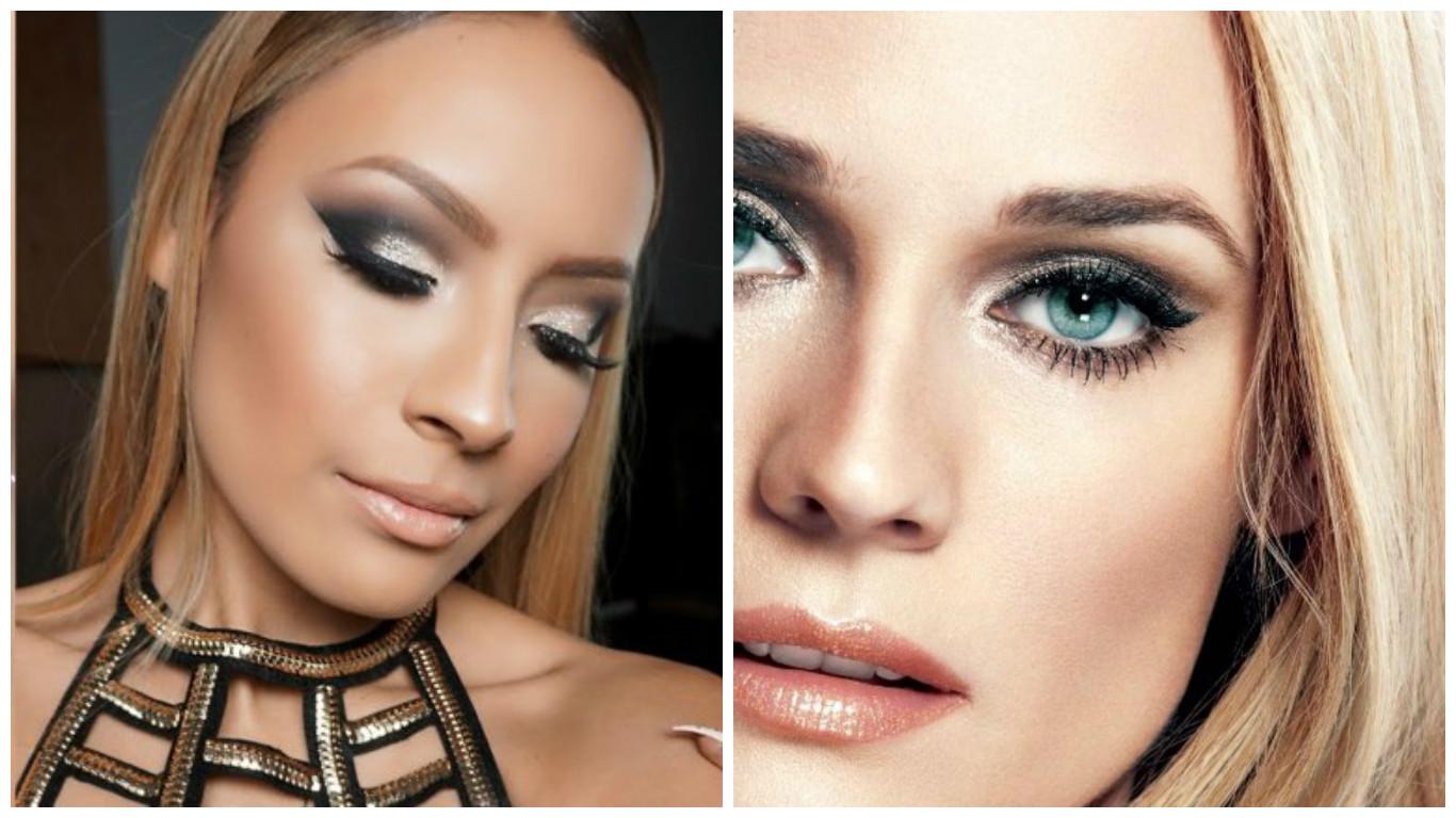 Maquillage de fêtes 2017: 47 idées de maquillage de réveillon pour ...