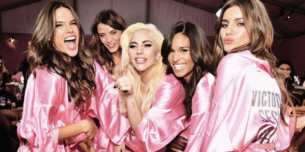 Les anges avec Lady Gaga