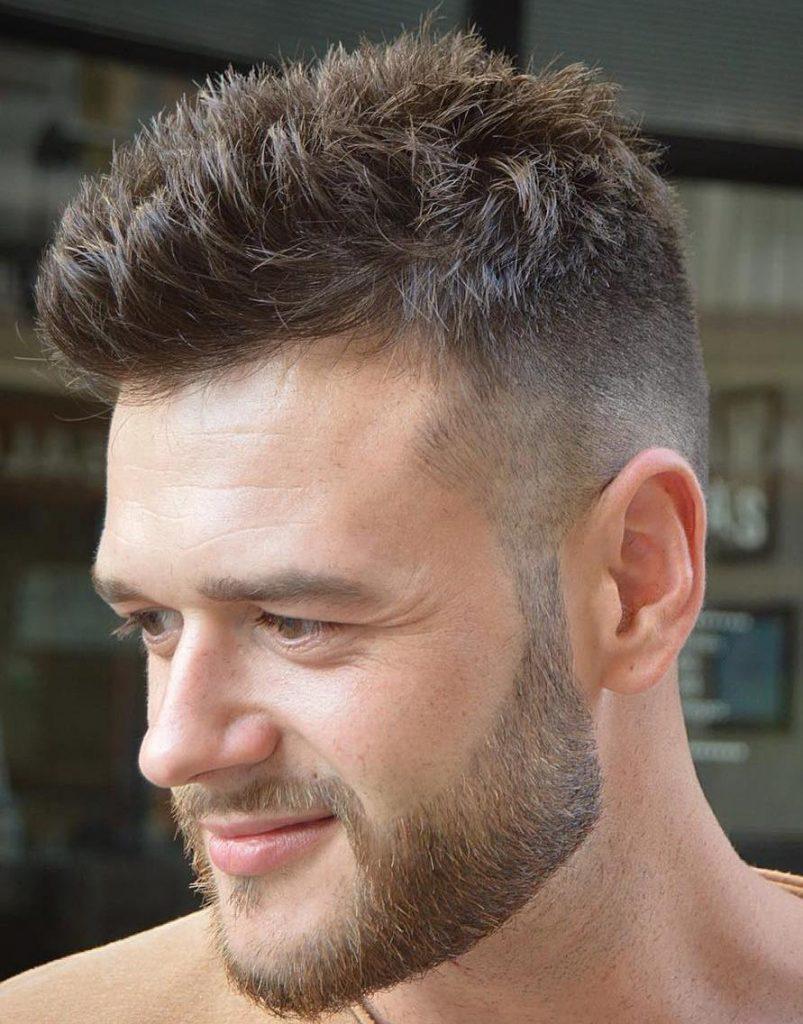 coupe de cheveux homme 2017