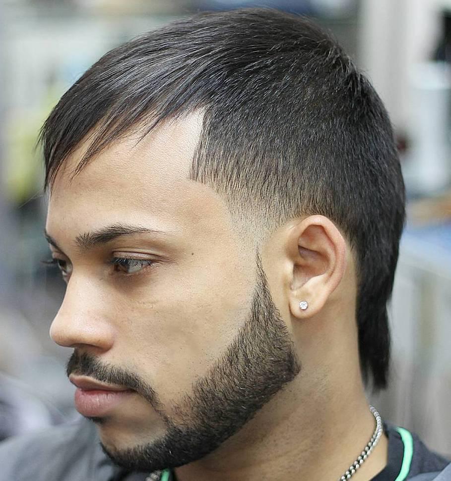 coiffure homme nuque longue