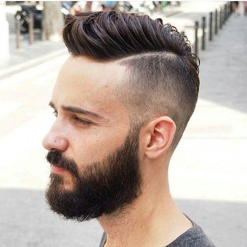 Coupe de cheveux pour les hommes