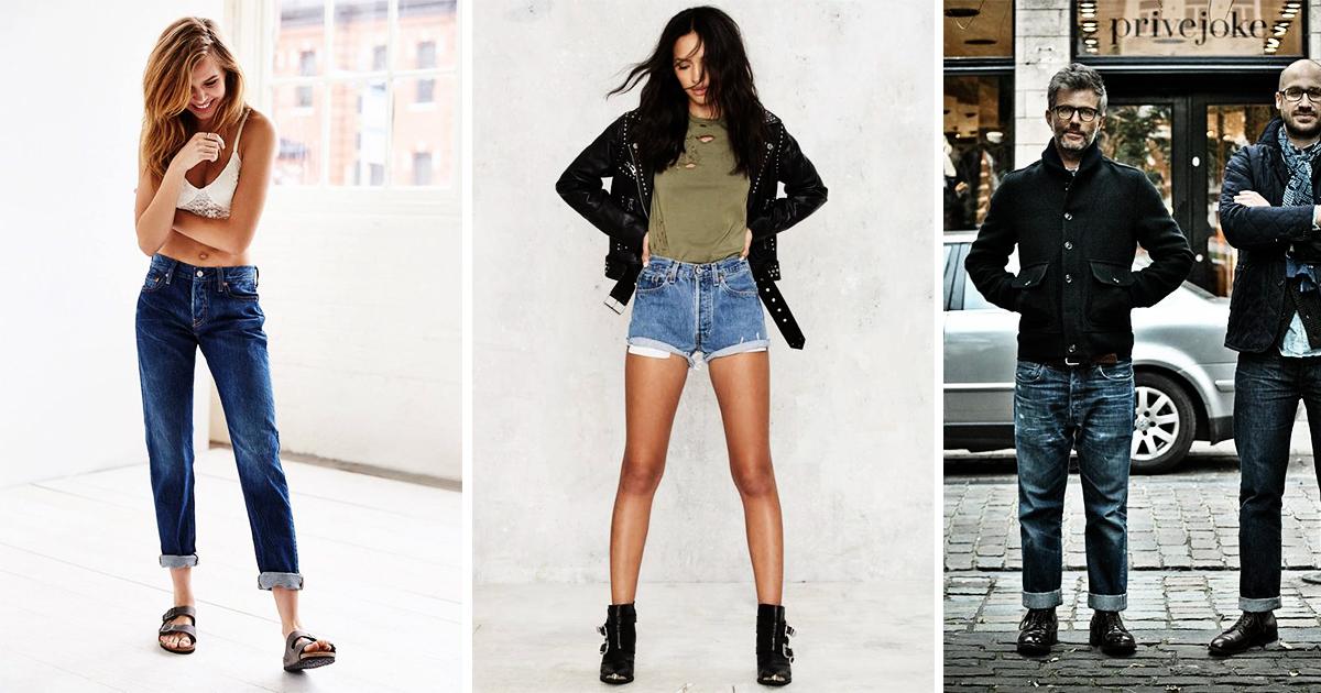 Tendance Mode: Le jean 501 de Levi's, un jean culte et toujours à la mode