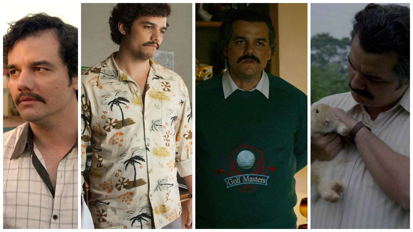 Look vintage: 18 leçons de style de Pablo Escobar dans la série narcos