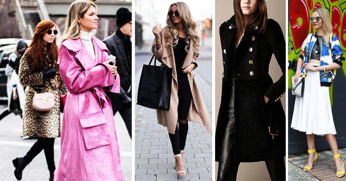 Manteaux femme hiver 2017: 23 manteaux tendances pour passer l'hiver au chaud