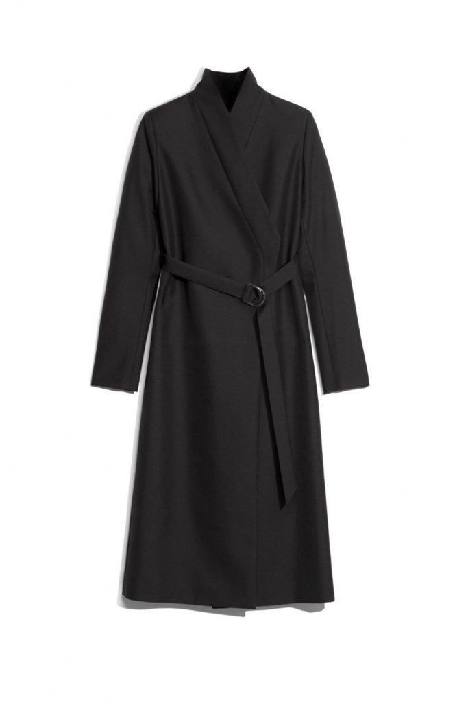 Manteau long en noir - Boden