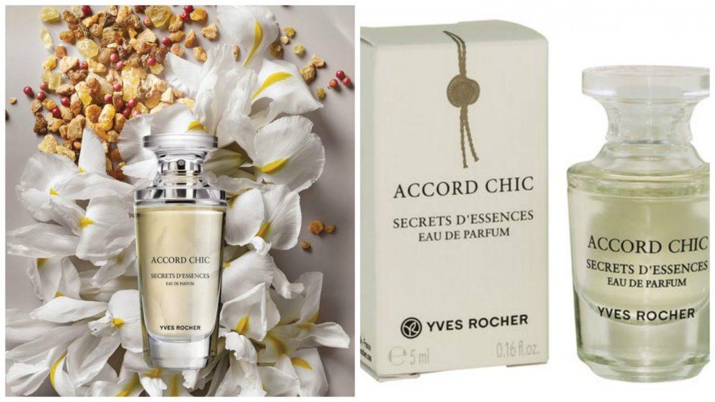 Parfums tendances de la saison 2017 - Accord Chic Secrets d'Essences d'Yves Rocher
