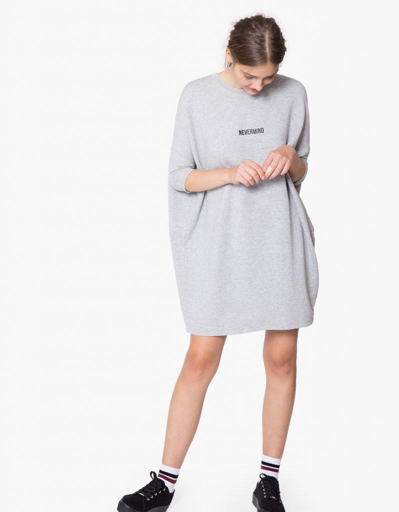 SWEAT OVERSIZE BLASONNÉ pour femme chez Shana tendance 2017