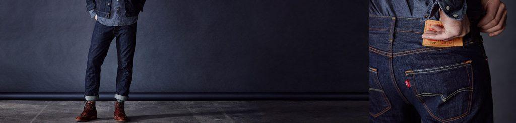 Le jean Levi's® 501® Original: La légendaire coupe droite avec la braguette à boutons emblématique de la marque. Depuis 1873.