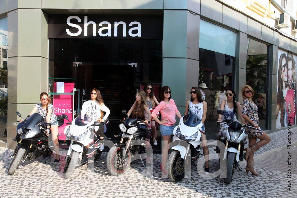 La visite des miss tuning tunisie - Boutique Shana Tunisie