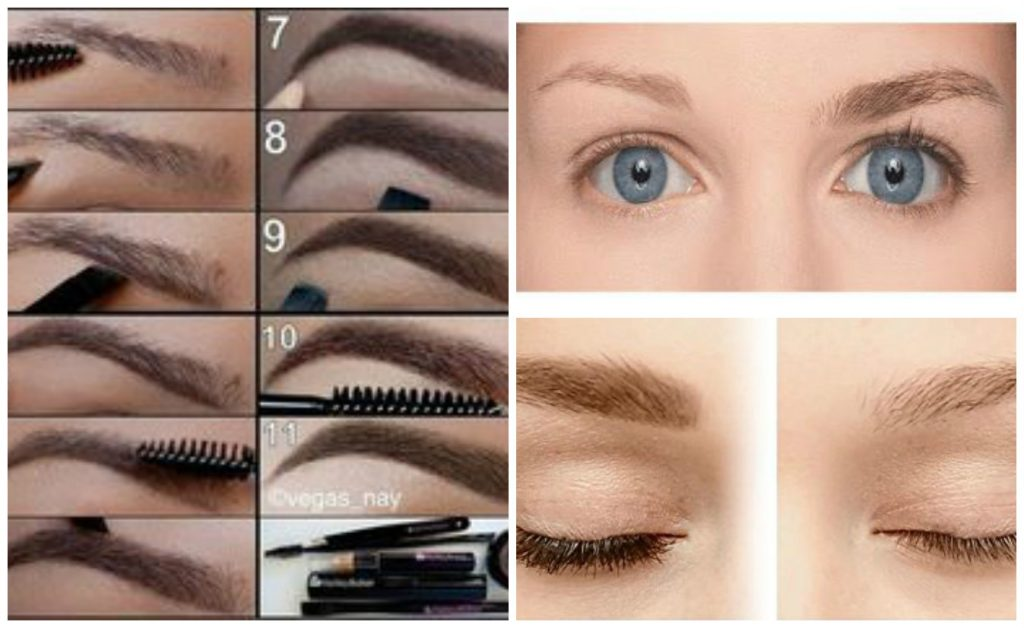 maquiller sourcils clairsemés