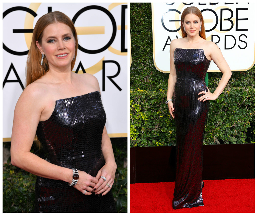 Amy Adams en robe de soirée Tom Ford - golden globes 2017