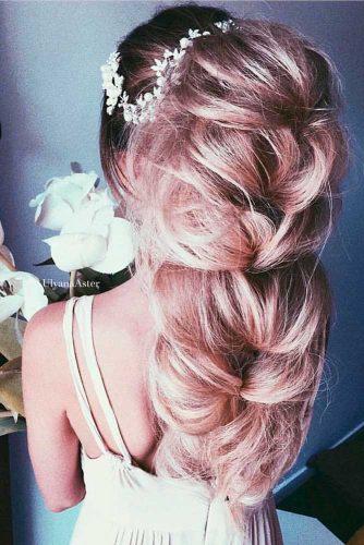 Idée de coiffure avec tresse pour être sublime à son mariage