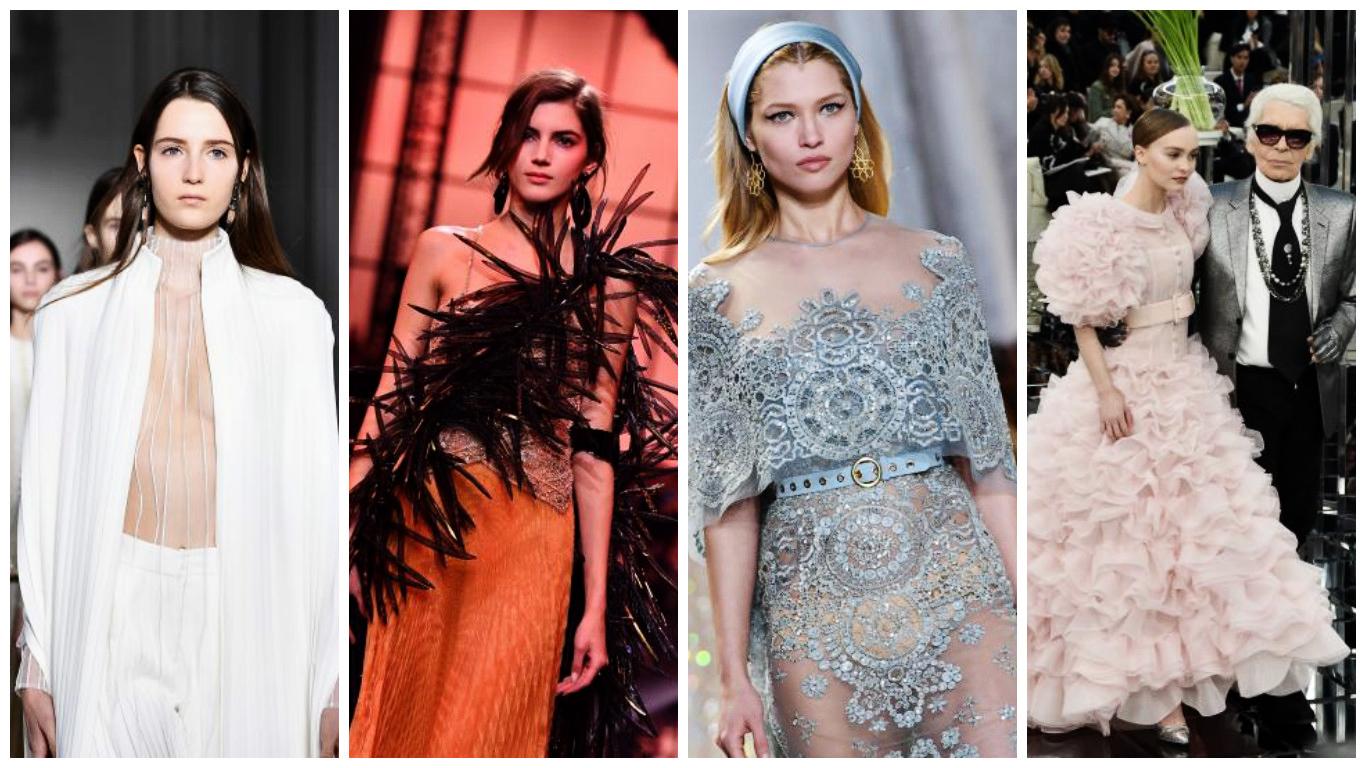 Fashion Week Haute Couture de Paris: Récapitulation pour Dior, Chanel, Armani, Valentino et Elie Saab