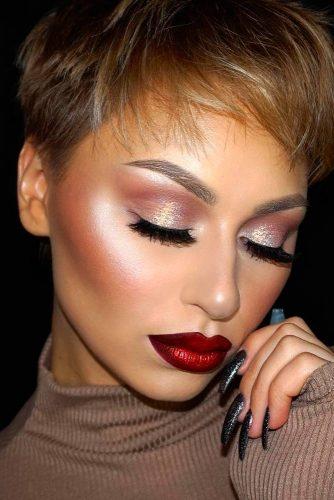 Idée maquillage romantique saint-valentin 2017 - Fard à paupières ...