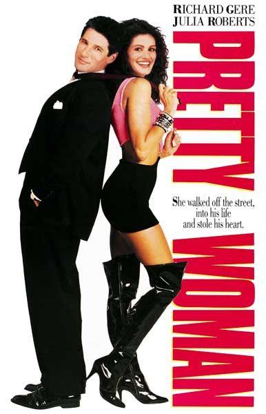 Julia Roberts en cuissardes dans le film « Pretty Woman »