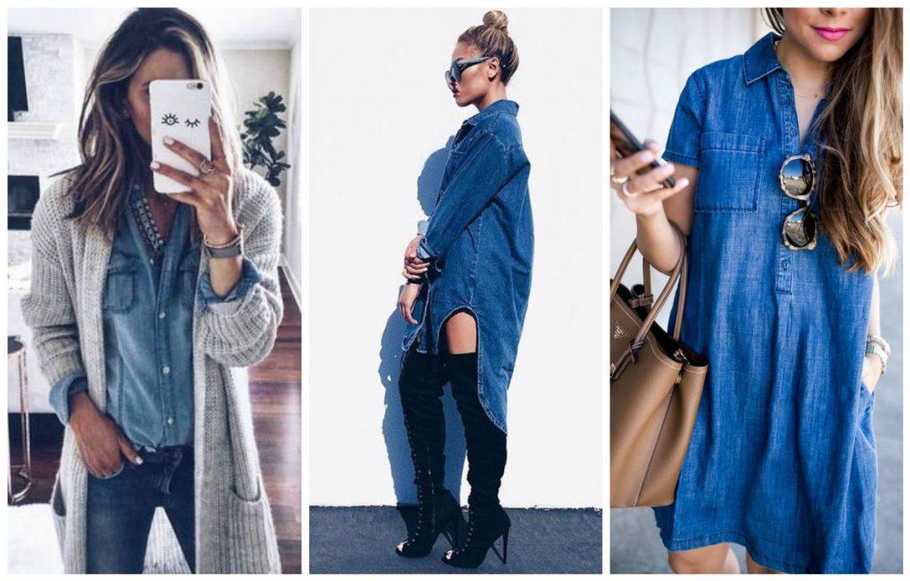 63764b7bb4b3c La chemise en jean tendance   Fluide ou ample… ou les deux