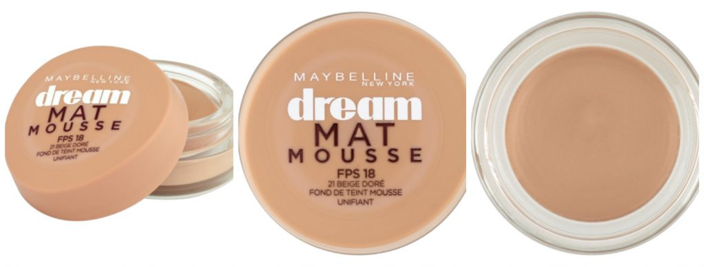 Meilleurs produits Maybelline 2017 - FOND DE TEINT MOUSSE DREAM MAT MOUSSE