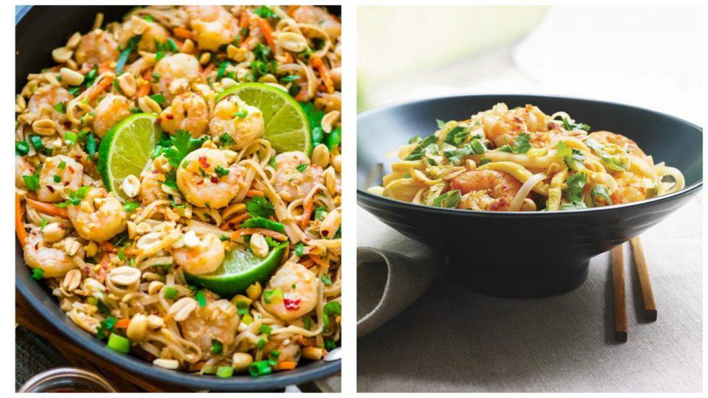 Recettes pour les amoureux - Recette Crevettes thaïes facile