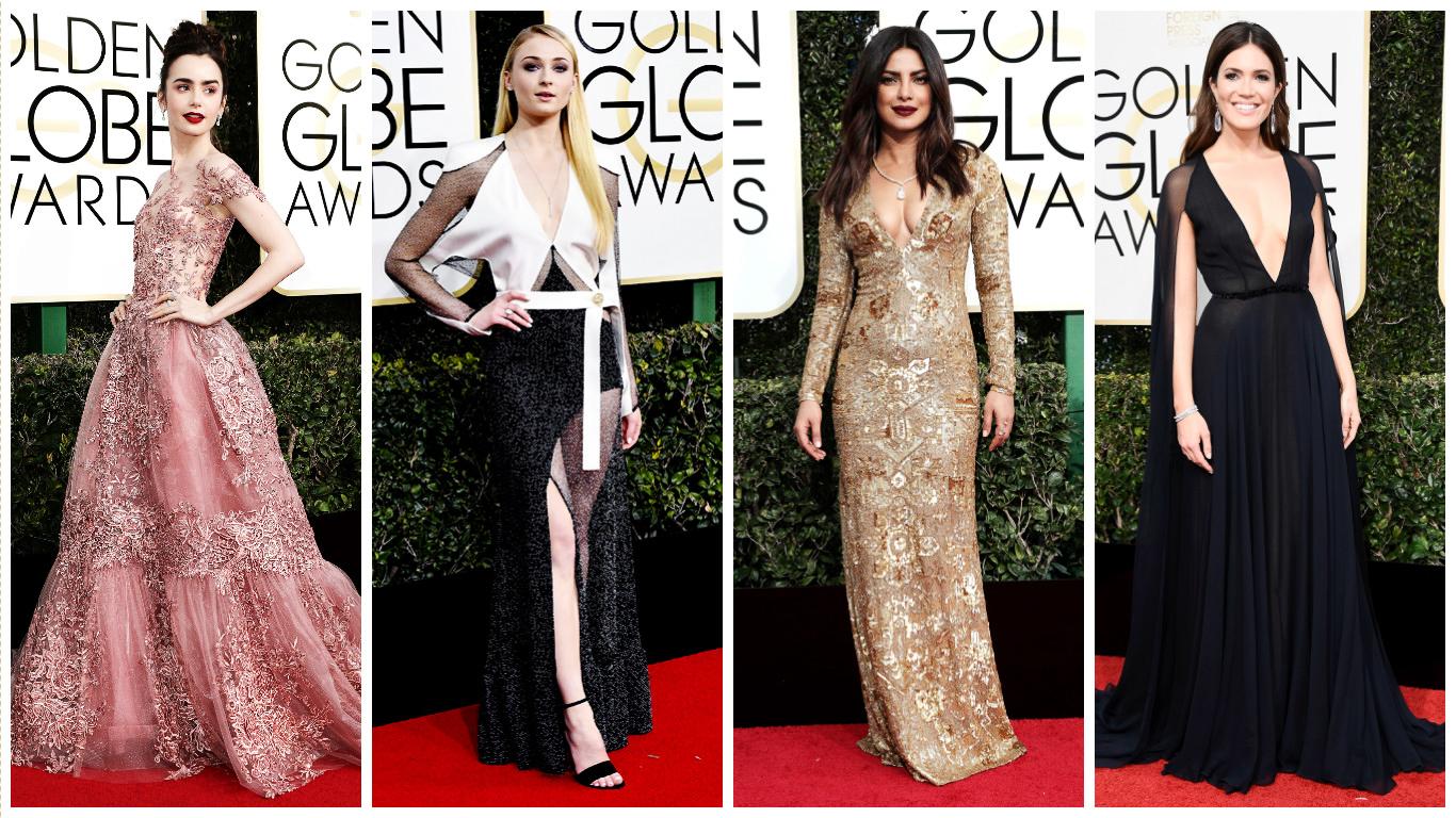Robes de soirée de stars: 9 des plus belles robes de cocktail de la Golden Globes 2017