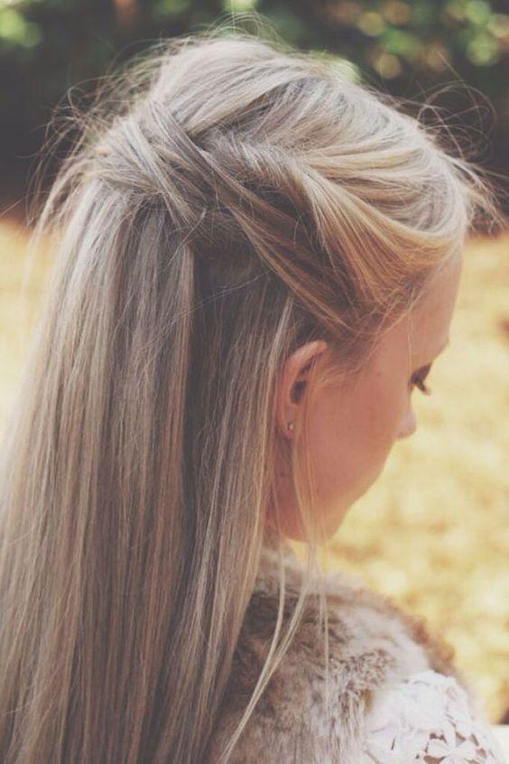 Coloration en blond cendré qui nous inspire pour la saison 2017