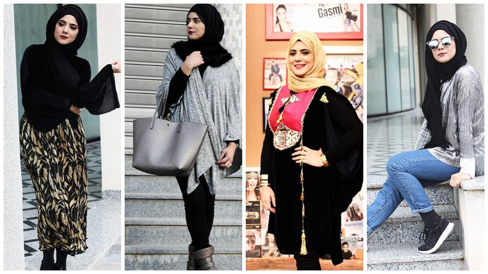 4 Looks en Hijab chez la blogueuse Ons El-Hammami qu'on aime