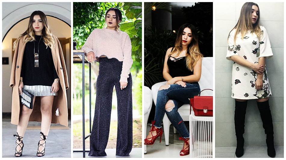 4 Looks qu'on aime chez la blogueuse tunisienne The W Beauty