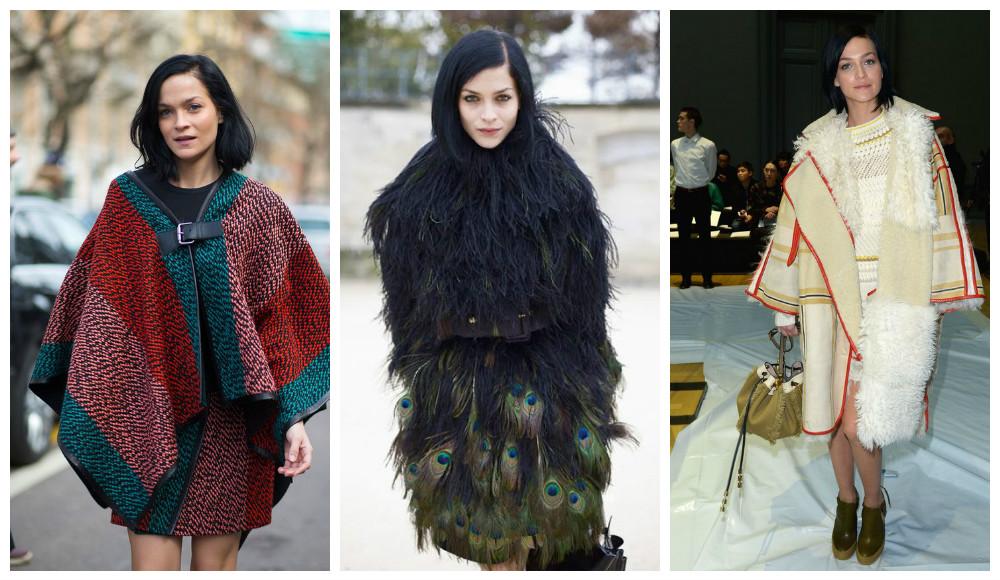 Avec son poncho oversize, Leigh Lezark a réinventé le manteau doudou. Alors, imitez-la !